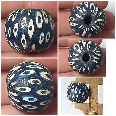 Very beautifull and old mosaic glass bead