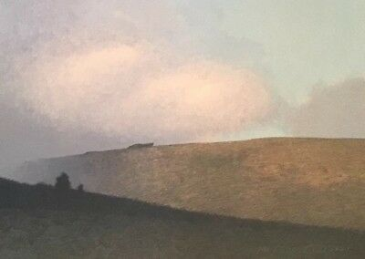 Rare Russell Chatham Original Signed #'d Marshall Ridge Tonalist Lithograph Art