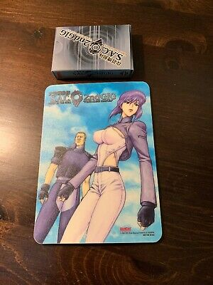 Bandai Ghost in the Shell Stand Alone Complex Playing Cards and Mousepad