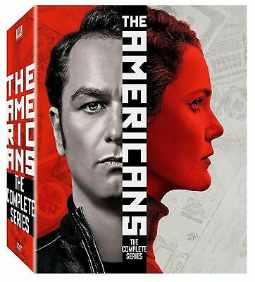 The Americans: The Complete Series (DVD, 2019, 23-Disc Collection) Brand New