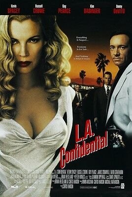 L.A. Confidential movie poster Kim Basinger, Kevin Spacey poster 11 x 17 inches
