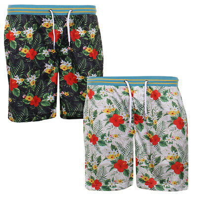 Mens Fun Print Hawaiian Brave Soul Shorts