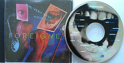 ⭐⭐ Foreigner  ⭐⭐ The Very Best...  And Beyond  ⭐⭐   Cd   ⭐⭐ Album 17 Tracks ⭐⭐