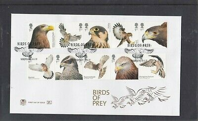 GB 2019 Birds of Prey Stuart FDC First Day Cover Barnsley special pmk