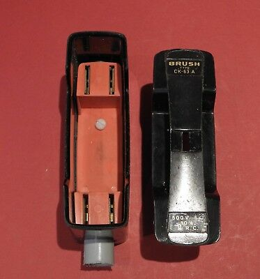 Brush Type CK- 63Amp Fuse Carrier HRC Fuse Type and Carrier Base