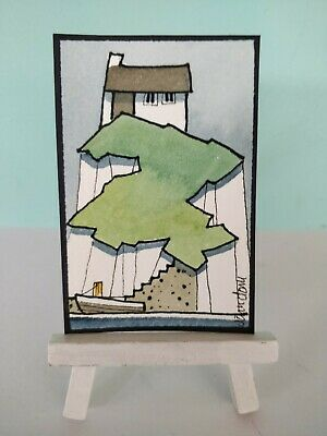 Original Watercolour Painting ACEO - Simple Days