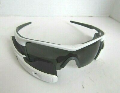 Recon JET Smart Eyewear For Sports and Fitness - White RiJET Sunglasses