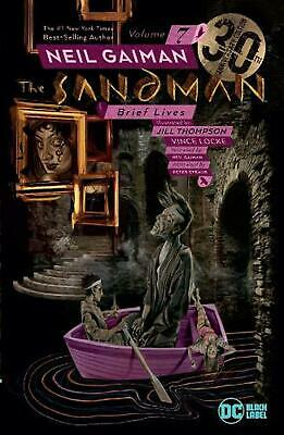 Sandman Vol. 7: Brief Lives 30th Anniversary Edition by Neil Gaiman Free Shippin