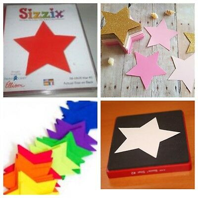 Sizzix Die Large Star #2 DieCut Originals Bigkick Retired Scrapbook Card Making