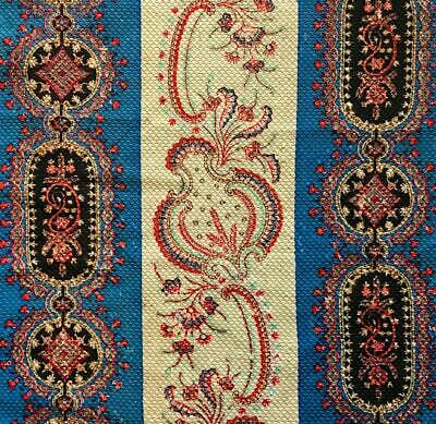 BEAUTIFUL EARLY TO MID 19th CENTURY FRENCH PAISLEY BLOCK PRINT 230.
