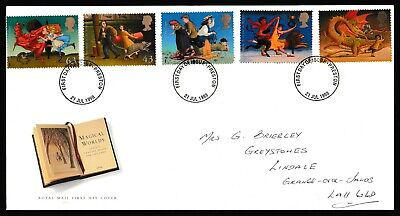 GB First Day Covers 1998. Preston Cancels. Pick your own.