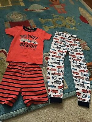 b53932843 EUC CARTER'S KIDS Boys 2 Pc. Pajama Set Sleepwear Pants/Long Sleeve ...