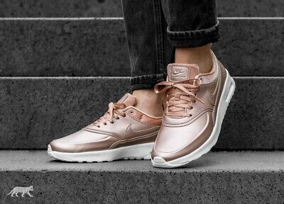 NIKE AIR MAX Thea Ladies trainers LilacBronzeWhite UK 5.5 EU 39, 25 cm