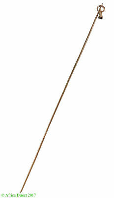 Pende Brass Hatpin with Bell Congo African SALE WAS $22.00