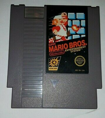 Super Mario Bros. NES/ Great Condition/ Tested Working/ Free Canada Shipping