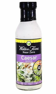 Walden Farms Near Zero Calorie Salad Dressing - Fat Free - All Flavours