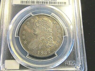 1832 50c Capped Bust Half Dollar Small Letters PCGS XF45