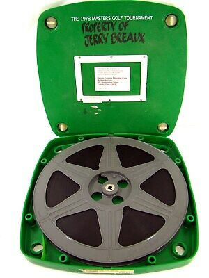 Vintage Scarce 16Mm Reel Film 1978 Masters Golf Tournament - Limited Printing