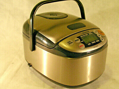 Zojirushi NS-LAC05 Electric Rice Cooker / Warmer 120V 450W 60 Hz AC Used Once