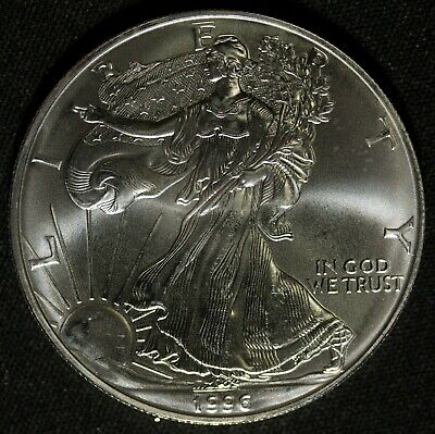 1996 American Silver Eagle Item#M5021