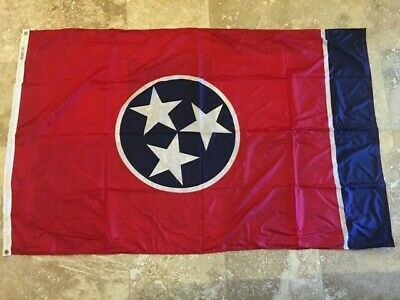 Annin Flagmakers Tennessee 2X3 4X6 3X5 5X8 200D Nylon Made In Usa State Flag