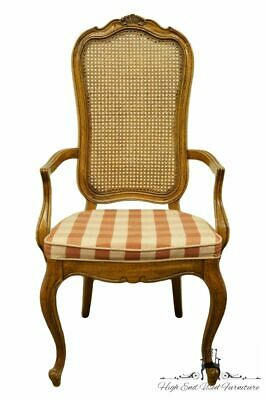 THOMASVILLE FURNITURE Camille Collection Cane Back Dining Arm Chair 11421-874
