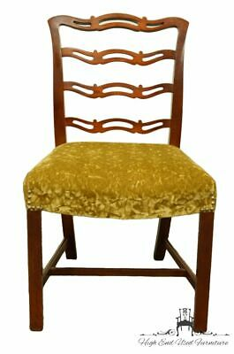 DREXEL HERITAGE Duncan Phyfe Solid Cherry Ladder Back Dining Side Chair