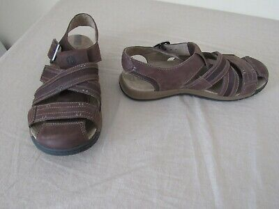 7aa00e93f174 Merrell Expresso Sandals Brown Leather Mens Size 11