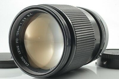 【EXCELLENT++++】CANON FD 135mm F/2.5 S.C. MF Prime Lens F/S From Japan #25