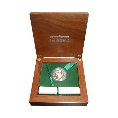 2oz 1994 Australian Platinum Koala Coin in Hardwood Box - RARE only 75 issued!