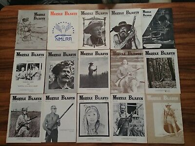 Huge lot of vintage MUZZLE BLASTS Magazines 69-70 sequential issues
