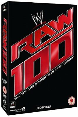 WWE: RAW - Top 100 Moments [DVD] - DVD  5KVG The Cheap Fast Free Post