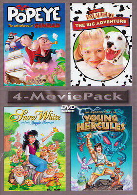 Popeye - The Adventures Of Sinbad / Operation: Dalmatian - The Big Adventu (Dvd)