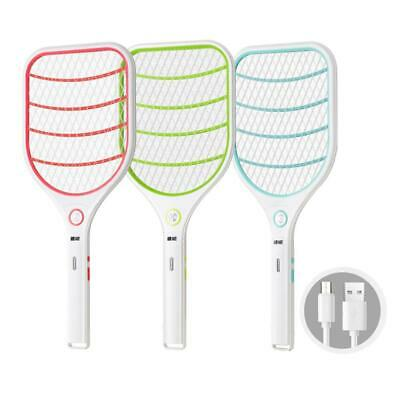 Electric Fly Swatter Mini Bug Zapper For Mosquito Flies Pest Control Disinfest