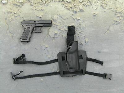 1//6 Scale Toy 13 Project Hanroku Trooper Salt Black Pistol /& Drop Leg Holster