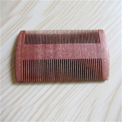 Portable Combs Double Sided Tint Dyeing Comb Unisex Wood Hair Styling Tools AL