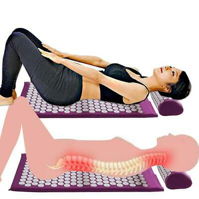 Massage Cushion Acupressure Relieve Back Pain Body Massage Mat with N4U8 02