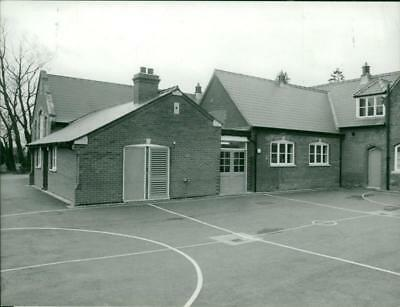 School in North Elmham. - Vintage photo