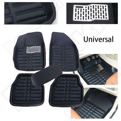 Universal Car Auto Floor Mats FloorLiner Front&Rear Carpet All Weather Mat 5PCS