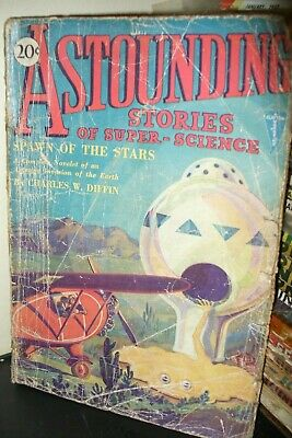 Astounding Stories Of Super-Science Us Pulp Magazine Feb 1930