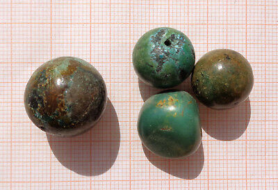 CINA (China): Fine Chinese Turquoise old beads