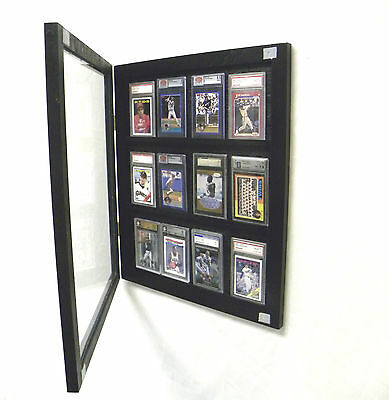 Graded Baseball Card Display Case for Baseball Graded Cards 12 PSA BECKETT
