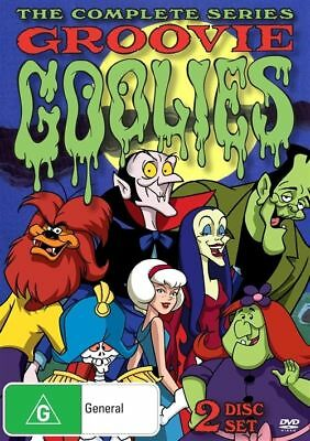 Groovie Goolies The Complete Series (DVD, 2-Disc Set) BRAND NEW SEALED
