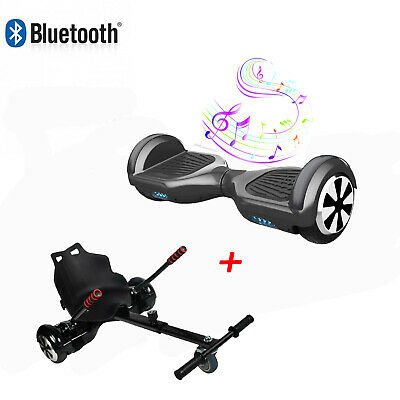 """Bluetooth 6.5"""" Bundle Combo Hover Electric Scooter Board Self Balance Hoverkart"""