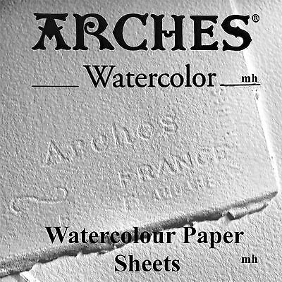 Canson Arhcers watercolour paper sheet 300gsm 640gsm Cold Press cotton acid free
