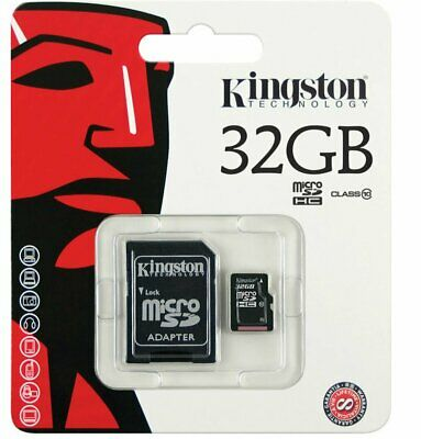 Kingston 32 GB 32GB Class 10 MicroSD Micro SD SDHC TF Karte SPEICHER KARTE UHS-I