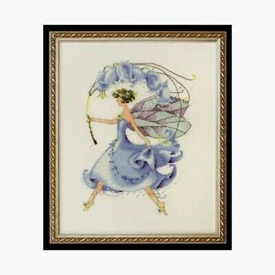 Pixie Couture Collection Bluebell Counted Cross Stitch Chart Pattern