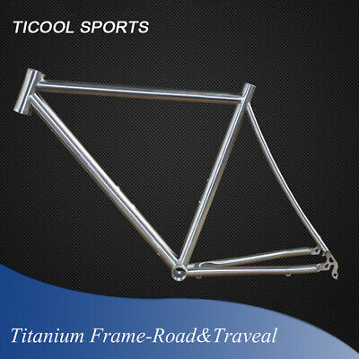 Flyfox Custom Inner Cable Routing Anium Road Bike Race Bicycle Frame