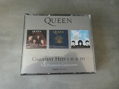 Queen ‎– Greatest Hits I II & III (The Platinum Collection) 3 cd set