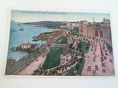 NEW YORK, Riverside Drive, North From Viaduct, Vintage Postcard  U.S.A.  §E655